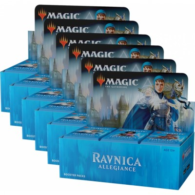Boites de Boosters Magic the Gathering Ravnica Allegiance - Lot de 6