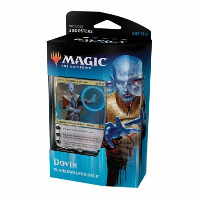 Deck Magic the Gathering Ravnica Allegiance - Planeswalker - Dovin, Architect of Law