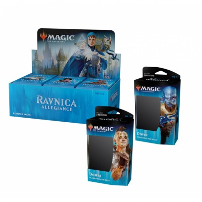 Offres Spéciales Magic the Gathering Ravnica Allegiance - Super Pack : Boite VO + 2 Decks VO