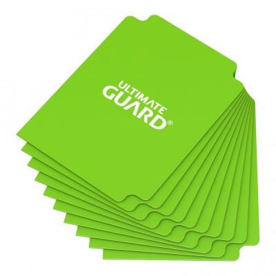 Boites de Rangements Card Dividers - 10 Séparateurs De Cartes - Vert Clair