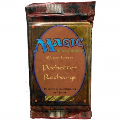 Boosters Magic the Gathering 3ème Edition - Bord Noir - Edition Limitée