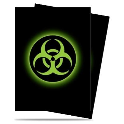 Protèges Cartes illustrées 50 Pochettes - Matte - Absolute Iconic - Biohazard