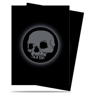 Protèges Cartes illustrées  50 Pochettes - Matte - Absolute Iconic - Skull