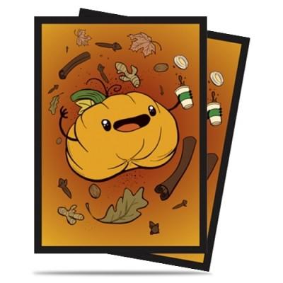 Protèges Cartes illustrées  50 Pochettes - Pumpkin Spice