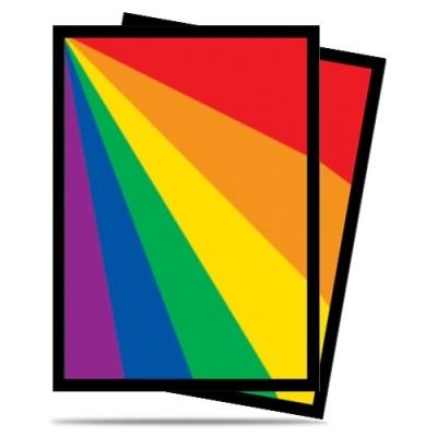 Protèges Cartes illustrées 50 Pochettes - Rainbow