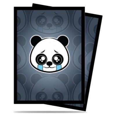 Protèges Cartes illustrées  50 Pochettes - Sad Panda