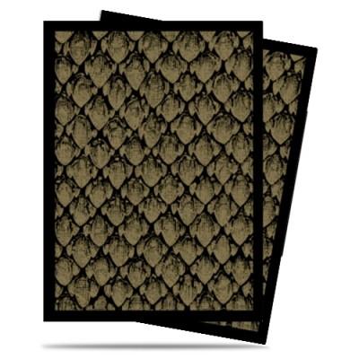 Protèges Cartes illustrées 50 Pochettes - Dragonhide Gold