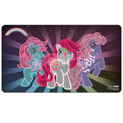 Tapis de Jeu  Playmat - My Little Pony - Retro Neon