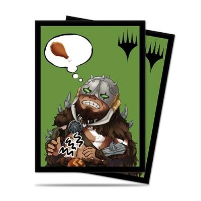 Protèges Cartes illustrées 100 Pochettes - Chibi Collection - Garruk - I'm Starving!