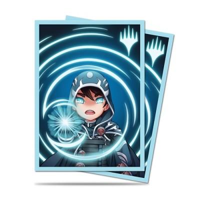 Protèges Cartes illustrées 100 Pochettes - Chibi Collection - Jace - Mystic