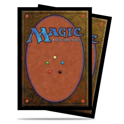 Protèges Cartes illustrées  100 Pochettes - Classic Card Back Magic