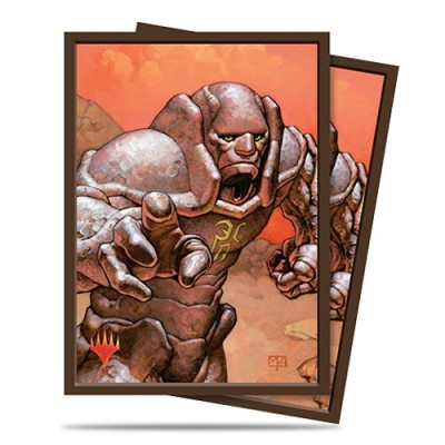 Protèges Cartes illustrées Magic the Gathering 100 Pochettes - Karn, Silver Golem