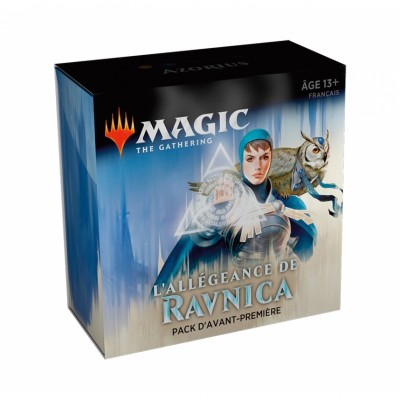 Boosters Magic the Gathering L'Allégeance de Ravnica - Pack d'Avant Première - Azorius