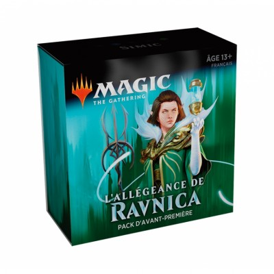 Boosters Magic the Gathering L'Allégeance de Ravnica - Pack d'Avant Première - Simic