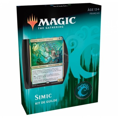 Coffrets Magic the Gathering L'Allégeance de Ravnica - Kits de Guilde - Simic