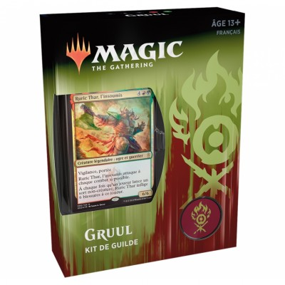 Coffrets Magic the Gathering L'Allégeance de Ravnica - Kits de Guilde - Gruul