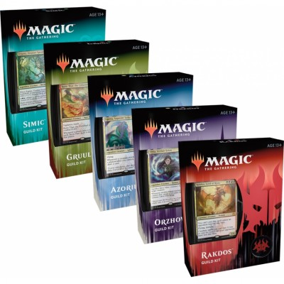 Coffrets Magic the Gathering Ravnica Allegiance - Guild Kits - Lot de 5