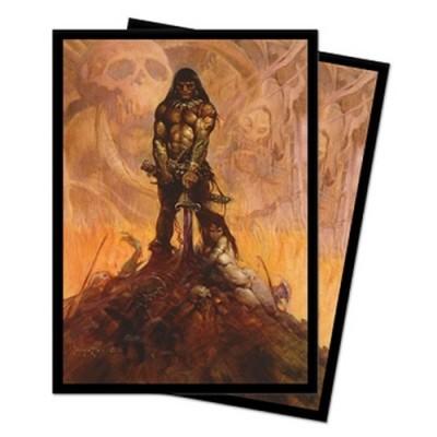 Protèges Cartes illustrées 100 Pochettes - Frank Frazetta Art - Barbarian