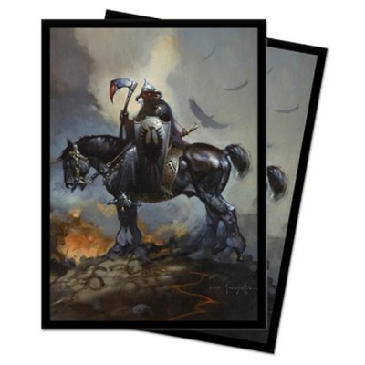 Protèges Cartes illustrées  100 Pochettes - Frank Frazetta Art - Death Dealer