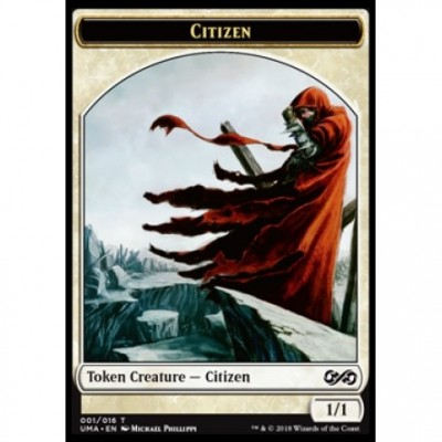Tokens Magic Magic the Gathering Jeton - Ultimate Masters - (01/16) Citizen