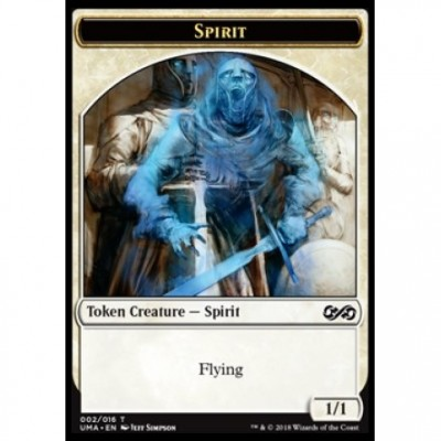 Tokens Magic Jeton - Ultimate Masters - (02/16) Spirit (White)