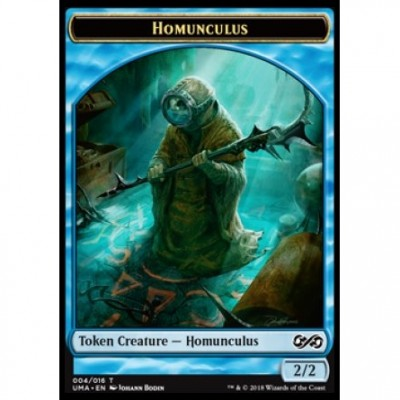 Tokens Magic Magic the Gathering Jeton - Ultimate Masters - (04/16) Homonculus