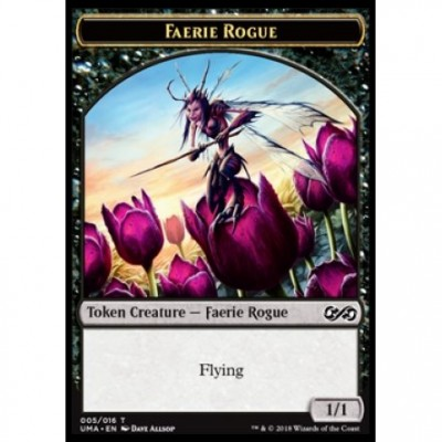 Tokens Magic Jeton - Ultimate Masters - (05/16) Faerie Rogue