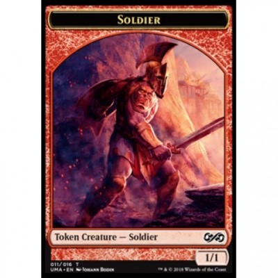 Tokens Magic Jeton - Ultimate Masters - (11/16) Soldier