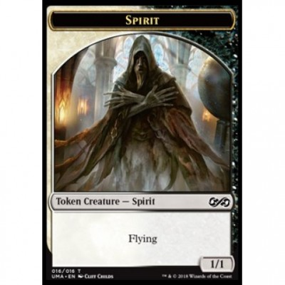 Tokens Magic Jeton - Ultimate Masters - (16/16) Spirit (Black&White)
