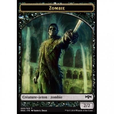 Tokens Magic Jeton - L'allégeance de Ravnica - (03/13) Zombie