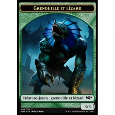 Tokens Magic Jeton - L'allégeance de Ravnica - (06/13) Grenouille et Lézard