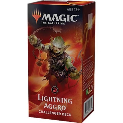 Decks Magic the Gathering Challenger Deck 2019 - Lightning Aggro