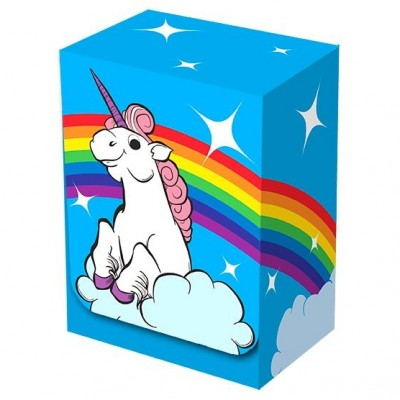 Boites de rangement illustrées  Deck Box - Rainbow Unicorn