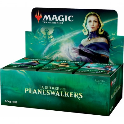 Boite de Boosters Magic the Gathering La Guerre des Planeswalkers - 36 Boosters de draft