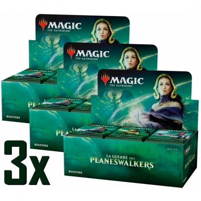 Boites de Boosters Magic the Gathering La Guerre des Planeswalkers - Lot de 3