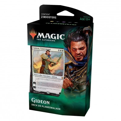 Decks Magic the Gathering La Guerre des Planeswalkers - Planeswalker - Gideon