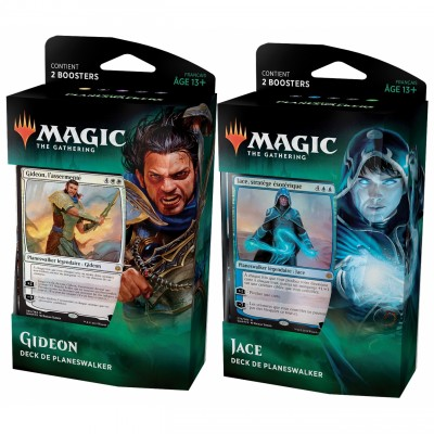 Decks Magic the Gathering La Guerre des Planeswalkers - Deck de Planeswalker - Lot de 2