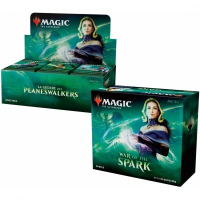 Offres Spéciales Magic the Gathering La Guerre des Planeswalkers - Small Pack : Boite VF + Bundle VO