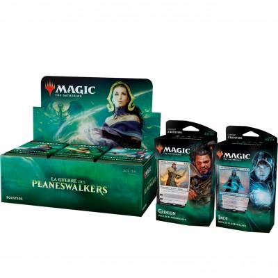 Offres Spéciales Magic the Gathering La Guerre des Planeswalkers - Super Pack : Boite VF + 2 Decks VF