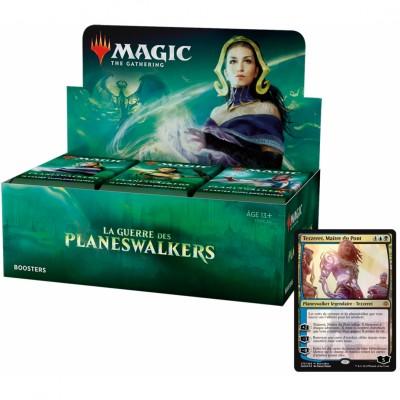 Boites de Boosters Magic the Gathering La Guerre des Planeswalkers + Carte Promo (Retrait magasin)