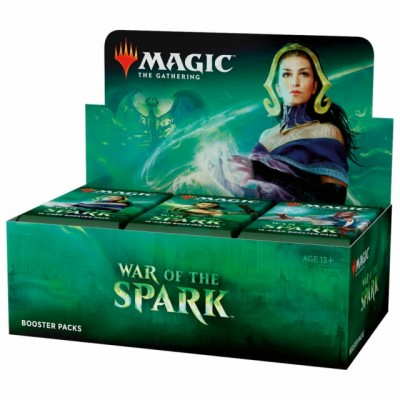 Boite de Boosters Magic the Gathering War of the Spark - 36 Draft Boosters