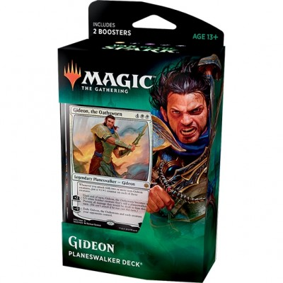 Deck Magic the Gathering War of the Spark - Planeswalker - Gideon