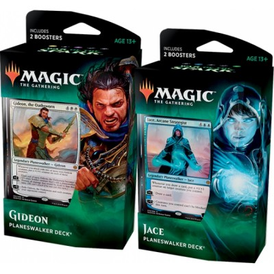 Deck Magic the Gathering War of the Spark - Planeswalker - Lot de 2