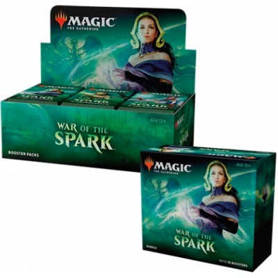 Offres Spéciales Magic the Gathering War of the Spark - Small Pack : Boite VO + Bundle VO