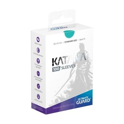 Protèges Cartes 100 Pochettes - Katana - Turquoise