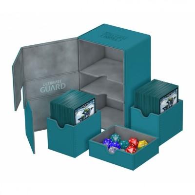 Boites de Rangements Twin Flip'n'Tray 160+ - XenoSkin - Pétrole
