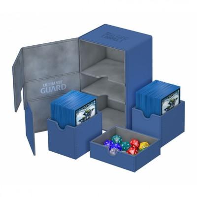 Boites de Rangements Twin Flip'n'Tray 160+ - XenoSkin - Bleu