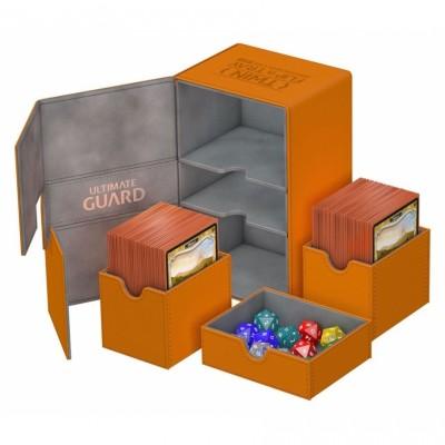 Boites de Rangements Twin Flip'n'Tray 160+ - XenoSkin - Orange