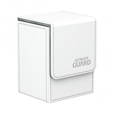 Boites de Rangements  Flip Deck Case 80+ - XenoSkin - Blanc