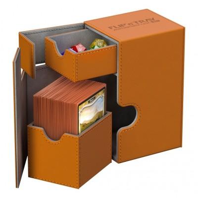 Boite de Rangement Flip'n'tray 80+ - Xenoskin - Orange